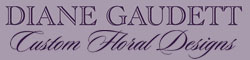 Diane Gaudett Custom Floral Designs – Wedding Flowers Arrangements – Event Planning in CT Logo