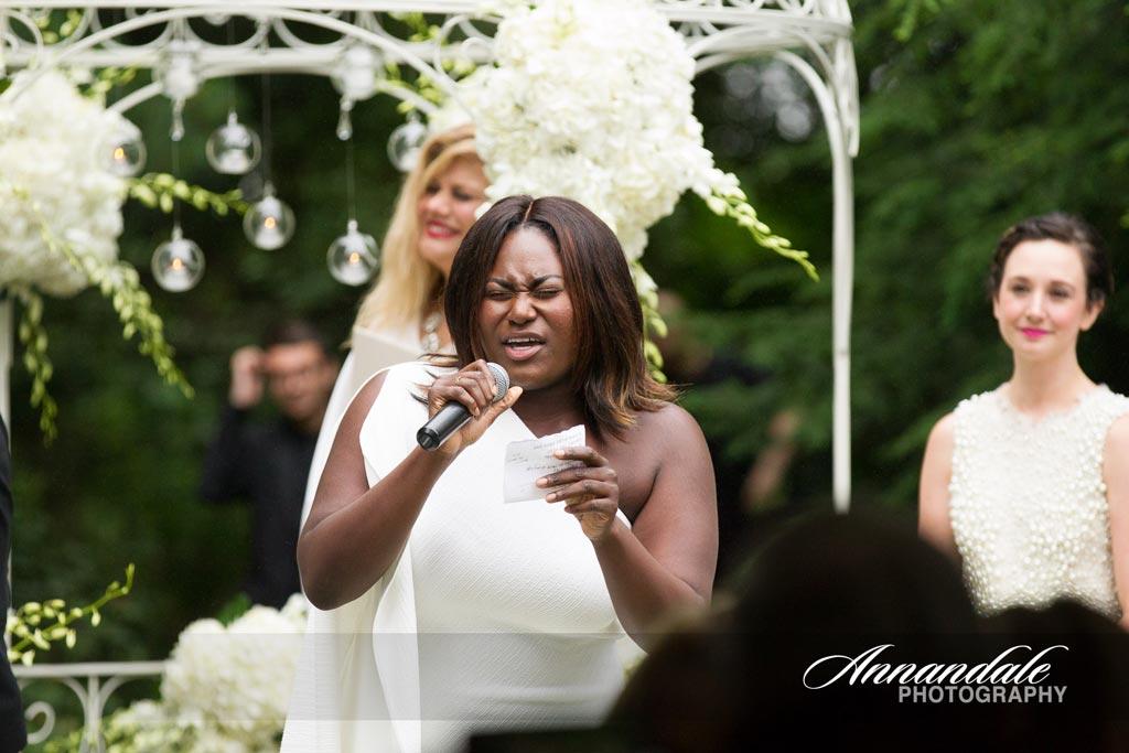 Christian Siriano Amp Brad Walsh Real Weddings Diane Gaudett Custom Floral Designs Wedding