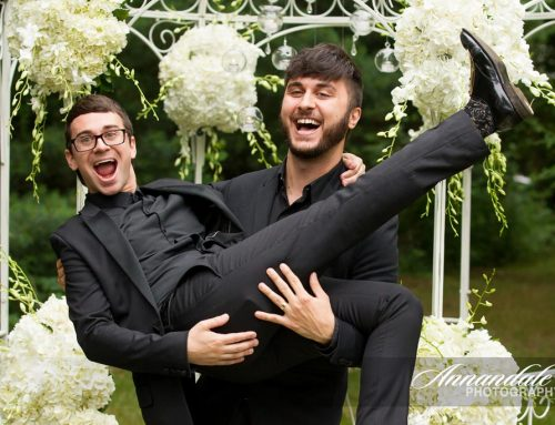 Christian Siriano & Brad Walsh – Real Weddings